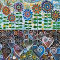 Flower Garden Blues by Manami Lingerfelt