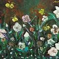 Flower Garden by Seon-Jeong Kim