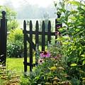 Flower Gate by Joyce Kimble Smith