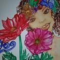 Flower Goddess  by V J