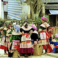 Flower Hmong Women 02 by Rick Piper Photography