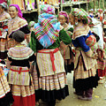 Flower Hmong Women 03 by Rick Piper Photography