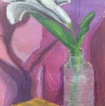 Flower In A Vase. by Jonathan Apoian