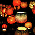 Flower Lamps by Carol Crisafi