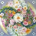 Flower Mandala #1 by Julia Watson