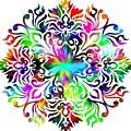Flower Mandala 4 by Camryn Zee Photography