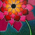 Flower Mandala-a by Elsie Porter