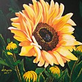 Flower Of The Sun by Sharon Duguay