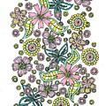 Flower Power 5 by Roberta Dunn