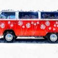Flower Power Van by Edward Fielding