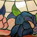 Flower Stained Glass  by Chris Flees