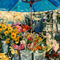 Flower Stand by Linda Scharck