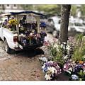 Flower Truck On Nantucket by Tammy Wetzel