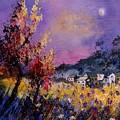 Flowered Landscape 569070 by Pol Ledent