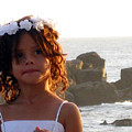 Flowergirl By The Sea by Sarah Hornsby