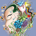 Flowerhead by Gala Hutton