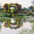 Flowering Arches, Giverny by Claude Monet