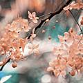 Flowering Tree. Nature In Alien Skin by Jenny Rainbow