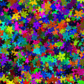 Flowers Abstract by Svetlana Sewell