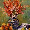 Flowers And Fruit 1889 by Renoir PierreAuguste