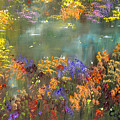 Flowers And Grasses IIi by Connie Tom