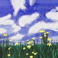 Flowers Bright Field by Lee Serenethos