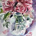 Flowers From The Garden by Kovacs Anna Brigitta