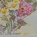Flowers In A Bunch by Joan Norris