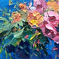 Flowers In The Water by Agostino Veroni