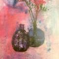 Flowers In Vase by Ralph Herrington Farabee