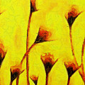 Flowers Of Love  - Van Gogh -  - Pa by Leonardo Digenio