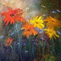 Flowers Of The Field by Barbara Couse Wilson