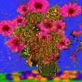 Flowers On The Table by Dr Loifer Vladimir