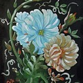 Flowers Surreal by Dolores Brittain