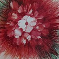 Flowerscape Just Beginning by Lisa Grogan