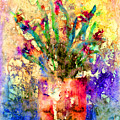 Flowery Illusion by Arline Wagner