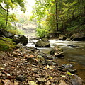 Flowing River by Mark Platt