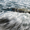 Flowing Sea Waves by Michalakis Ppalis