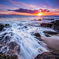 Flowing Sunset by Drew Sulock