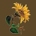 Flower Power T-shirt by Herb Strobino