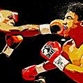 Floyd Mayweather by Lora Battle