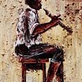 Flute Master by Daniel Akortia