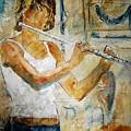 Flutist by Pol Ledent