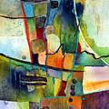 Fluvial  Mosaic by Hailey E Herrera