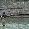 Fly Fisherman by Teresa Blanton
