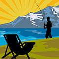 Fly Fishing by Aloysius Patrimonio