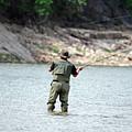Fly Fishing by Teresa Blanton