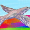 Flying Bird II by David R Keith
