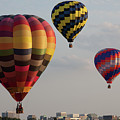 Flying Colors Over The City by Tatiana Travelways