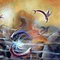 Flying Fishes by Arun Sivaprasad